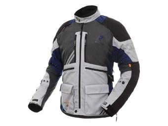 Gore Tex Motorradjacke Rukka Offlane steelgrey blue