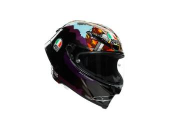Race Helm AGV Pista GP RR Morbidelli Misano 2020 Motorradhelm Integralhelm Carbonhelm