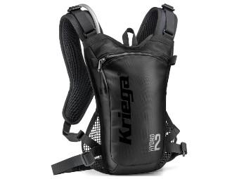 Rucksack Kriega Hydro 2 Backpack schwarz Trinkrucksack Motorradrucksack