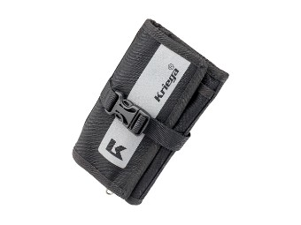 Geldbörse Brieftasche Kriega Stash Travel Wallet schwarz