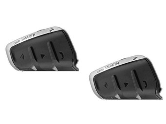 Sprechanlage Cardo Scala Rider Smarth Duo-Set Bluetooth Interkom Doppelset