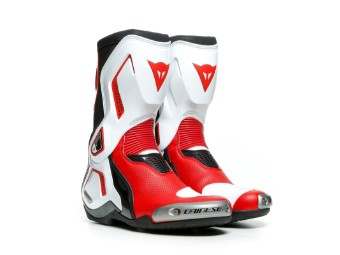 Stiefel Dainese Torque 3 Out Air Boots black white lava red