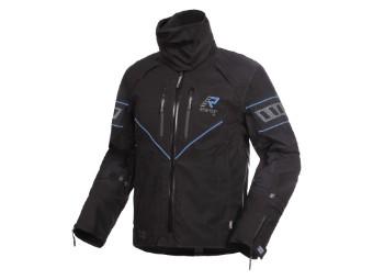 Gore Tex Motorradjacke Rukka Realer schwarz blau