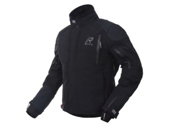 Gore Tex Motorradjacke Rukka Shield-R schwarz schwarz