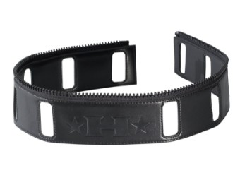 Halvarsson Waist Zip Verbindungsreißverschluss Gürteladapter Taillen-Reißverschluss schwarz