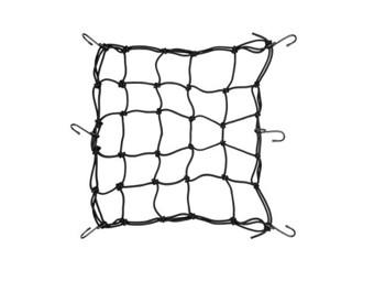 Gepäcknetz Booster Helmnetz Netz 35 x 35 cm Motorradnetz