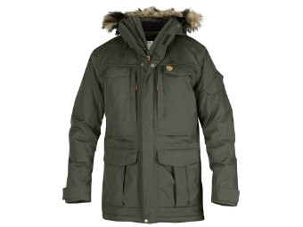 Winterjacke Fjäll Räven Yupik Parka Men Herrenparka mountain grey