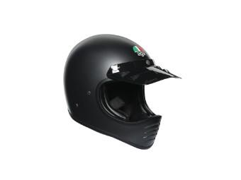 Helm AGV Legends X101 Mono Matt Black