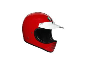 Helm AGV Legends X101 Mono Red
