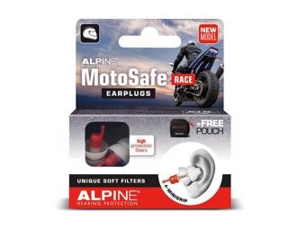 Motosafe Race Ohrstöpsel Gehörschutz für Motorradfahrer