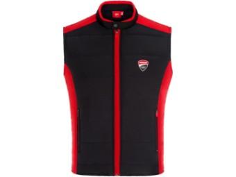 Wattierte Weste Ducati Corse Contrast Bodywarmer schwarz rot