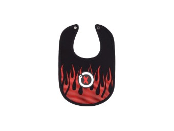Baby Bib Lätzchen Jorge Lorenzo Flames Mascotte JL99