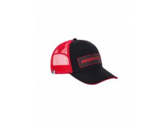 Cap Ducati Corse Trucker Snapback red