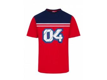 T-Shirt Andrea Dovizioso Stripes AD04
