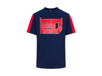T-Shirt Fabio Quartararo El Diablo 20 blau