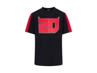T-Shirt Fabio Quartararo El Diablo 20 black
