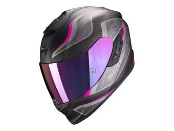 Helm Scorpion EXO 1400 Air Attune matt schwarz pink