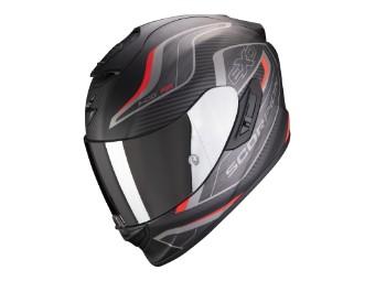 Helm Scorpion EXO 1400 Air Attune matt schwarz rot