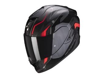 Helm Scorpion EXO 1400 Air Fortuna schwarz rot