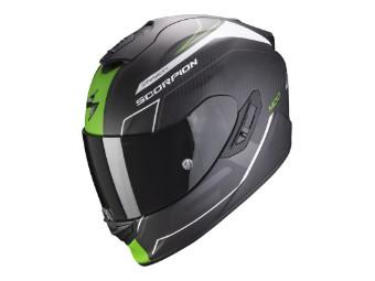 Helm Scorpion EXO 1400 Carbon Air Beaux schwarz grün matt