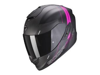 Helm Scorpion EXO 1400 Carbon Air Drik schwarz pink matt