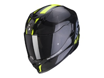 Helm Scorpion EXO 520 Air Laten Schwarz Neongelb
