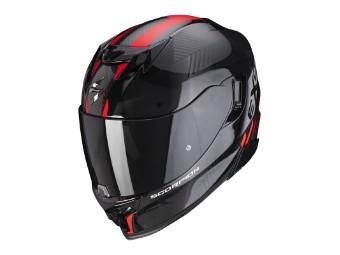 Helm Scorpion EXO 520 Air Laten Schwarz Rot
