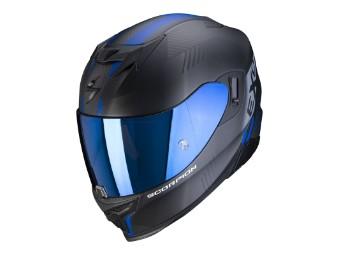 Helm Scorpion EXO 520 Air Laten Schwarz Matt Blau