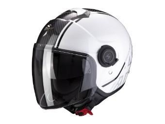 Helm Scorpion Exo City Avenue weiß schwarz