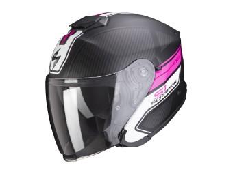 Helm Scorpion Exo S1 Crossville schwarz matt pink