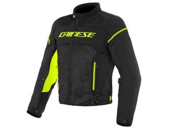 Motorradjacke Dainese Air Frame D1 schwarz gelb