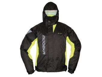 Regenjacke Modeka AX Dry II schwarz gelb