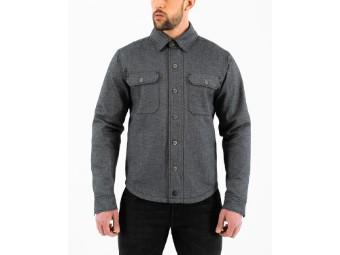 Jacke Rokker Boston Rider Shirt Grey