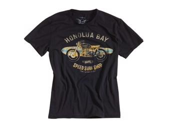 T-Shirt Rokker Honolua Bay schwarz