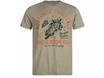 T-Shirt Rokker Montanita dusty olive