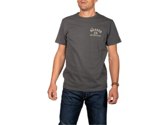 T-Shirt Rokker Motorcycles and Co. Men dark gray shadows