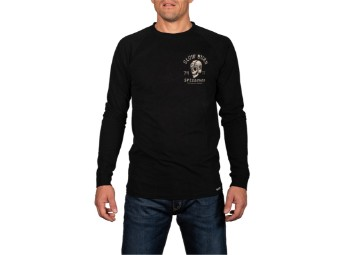 Langarmshirt Rokker Slow Burns Longsleeve Shirt Men Black