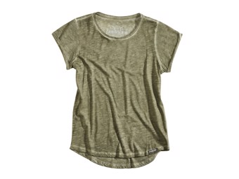 T-Shirt Rokker RKK Birdie Lady army green