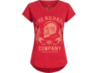 T-Shirt Rokker Eagle Lady rot