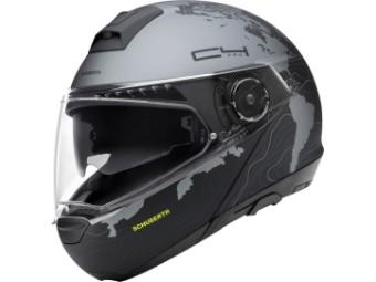Klapphelm Schuberth C4 Pro Magnitudo Black schwarz grau matt