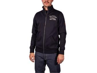 Sweatjacke Rokker Motors Zip Sweater Fullzip black