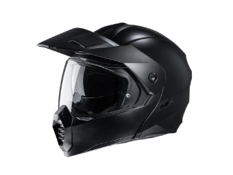 C80 Semi Flat Black schwarz matt Dual Sport Helm
