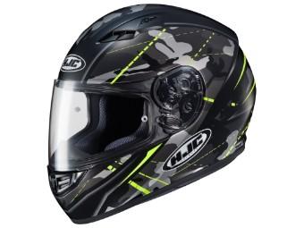 Helm HJC CS15 Songtan MC4HSF schwarz neongelb matt