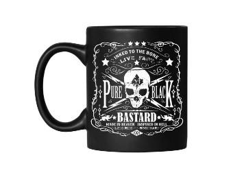 Tasse Jack's Inn 54 Bastard Mug Keramiktasse schwarz matt
