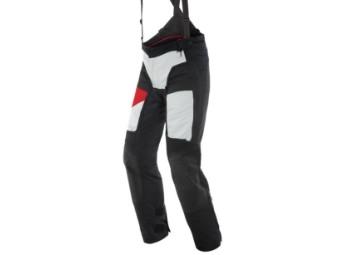 Motorradhose Dainese D-Explorer 2 Gore Tex Pants schwarz grau rot
