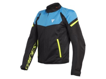 Motorradjacke Dainese Bora Air Tex Jacket black fire blue yellow fluo