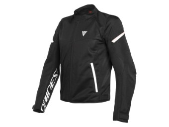 Motorradjacke Dainese Bora Air Tex Jacket black white