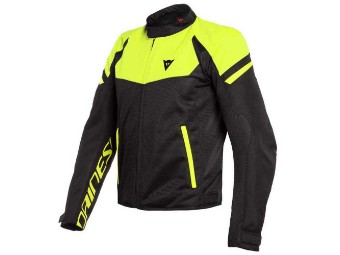 Motorradjacke Dainese Bora Air Tex Jacket black yellow fluo