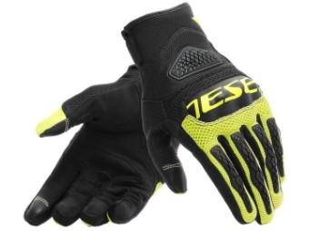 Motorradhandschuhe Dainese Bora Gloves schwarz gelb fluo