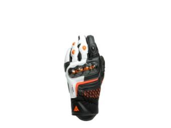 Handschuhe Dainese Carbon 3 Short Gloves black white flame orange